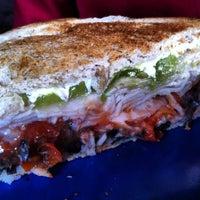 Photo taken at Pom Pom's Teahouse & Sandwicheria by Dafoodie on 7/13/2012