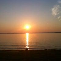 Photo taken at Windsurf Bay Park by Serena L. on 6/30/2012