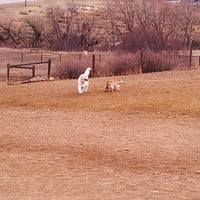 Photo taken at David Lorenz Dog Park by Kayla S. on 2/2/2012