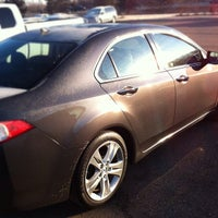 Photo taken at Suburban Acura by Randy C. on 2/20/2012