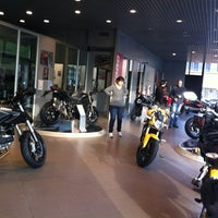 Photo taken at Ducati Store by Davide D. on 4/12/2012