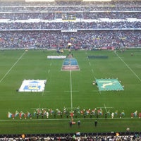 Photo taken at Newlands Rugby Stadium by Pierre Z. on 8/18/2012