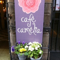 Photo taken at Cafè Camèlia by Christie H. on 4/10/2012
