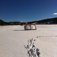 Photo taken at Dillon Reservoir by David B. on 2/24/2012