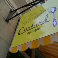 Photo taken at Custard Boutique by tara K. on 4/3/2012