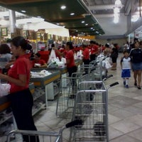 Photo taken at Supermercados Líder by Alessandro C. on 3/31/2012