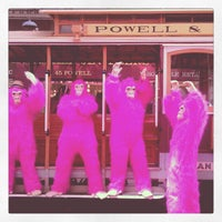 Photo taken at Powell Street Cable Car Turnaround by SJ N. on 4/16/2012