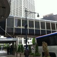 Photo taken at Penn Station Bus Lane 2B by John H. on 5/2/2012