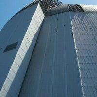 Photo taken at Hangar One (Building 1) by Matthew R. on 5/7/2012