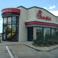 Photo taken at Chick-fil-A Twin Creeks Village by Jessica S. on 6/22/2012
