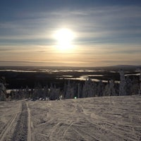 Photo taken at Levi Ski Resort by Sarah T. on 2/22/2012
