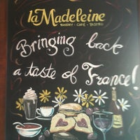 Photo taken at la Madeleine Country French Café by Roni C. on 8/5/2012