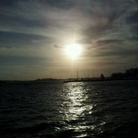 Photo taken at Coralita Pink Ferry Boat by Eric B. on 2/23/2012