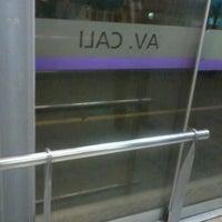 Photo taken at TransMilenio: Avenida Cali by Shirly C. on 7/25/2012