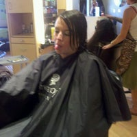 Photo taken at Fringe Hair Studio by Ron R. on 4/21/2012