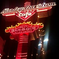 Photo taken at Harley-Davidson Cafe by Lin R. on 5/7/2012