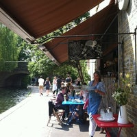 Photo taken at Towpath Cafe by Sophia on 8/12/2012