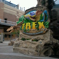Photo taken at T-Rex Cafe by jessica on 4/30/2012