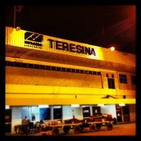 Photo taken at Aeroporto de Teresina / Senador Petrônio Portella (THE) by Bernardo S. on 9/1/2012