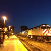 Photo taken at Hillsdale Caltrain Station by Jesse P. on 7/13/2012