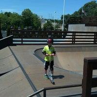 Photo taken at Inline1 Skatepark by James F. on 7/6/2012