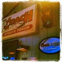 Photo taken at The Coach Sports Bar by Dan K. on 9/5/2012