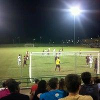 Photo taken at Corbett Soccer Stadium by Colby E. on 9/9/2012