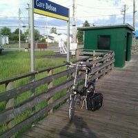 Photo taken at AMT Gare Delson by Ronald H. on 5/16/2012