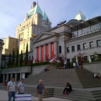 Photo taken at Vancouver Art Gallery by Marc C. on 9/2/2012