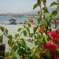 Photo taken at Playa de Torviscas by Miss P. on 7/19/2012
