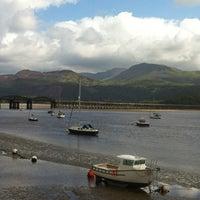 Photo taken at Barmouth Bridge & Railway Viaduct by 😍 on 8/30/2012