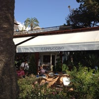 Photo taken at Cappuccino Marbella by Juan Antonio G. on 7/21/2012