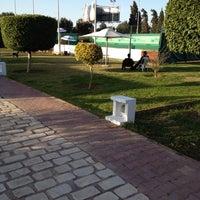 Photo taken at Tennis Club De L'Avenir Sportif De La Marsa by Hatem D. on 3/18/2012
