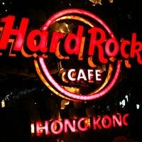Photo taken at Hard Rock Café Hong Kong by Liow S. on 7/21/2012