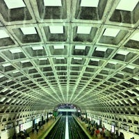 Photo taken at Gallery Place - Chinatown Metro Station by Zahid Z. on 9/2/2012