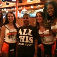 Photo taken at Hooters by Fuzzy L. on 4/3/2012