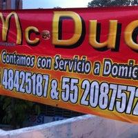 Photo taken at Hamburguesas Mc. Duo by David R. on 4/20/2012