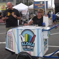 Photo taken at Aloha Pops Ice Cream Tricycle by Michael C. on 5/26/2012