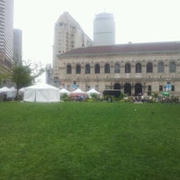 Photo taken at Copley Square by Michael S. on 7/27/2012