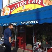 Photo taken at Sutton Cafe & Restaurant by Becka V. on 7/30/2012