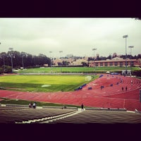 Photo taken at UCLA Drake Track & Field Stadium by Kyle D. on 8/25/2012