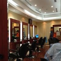 Photo taken at Bare Gents Salon JBR by Taseer R. on 4/4/2012