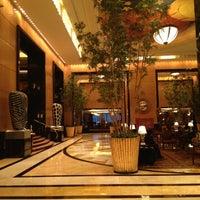 Photo taken at Hotel Mulia Senayan by Aditya Y. on 6/10/2012