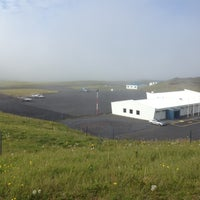 Photo taken at Flugvöllur Vestmannaeyjar by Viktor R. on 6/24/2012