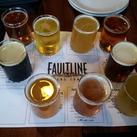 Photo taken at Faultline Brewing Company by Eric J. on 8/23/2012