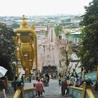 Photo taken at Batu Caves by Denis S. on 8/21/2012