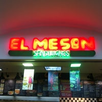 Photo taken at El Meson Sandwiches Catalinas by Tomer O. on 3/22/2012