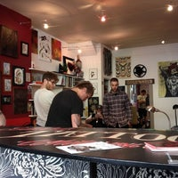 Photo taken at Kids Love Ink East Tattoo by Dean O. on 4/1/2012