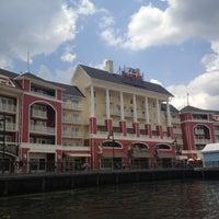 Photo taken at Friendship Boat Dock - Yacht & Beach Club Resorts by Karen C. on 5/7/2012