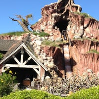 Photo taken at Splash Mountain by Marc on 4/15/2012